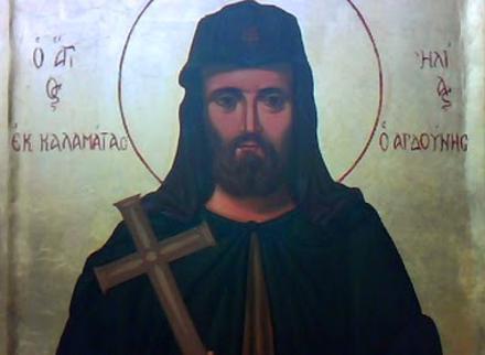 Αποτέλεσμα εικόνας για Άγιος Ηλίας ο Νέος Οσιομάρτυρας ο Αρδούνης