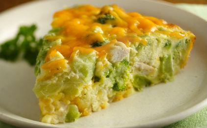 omeleta me mprokoko ke patates