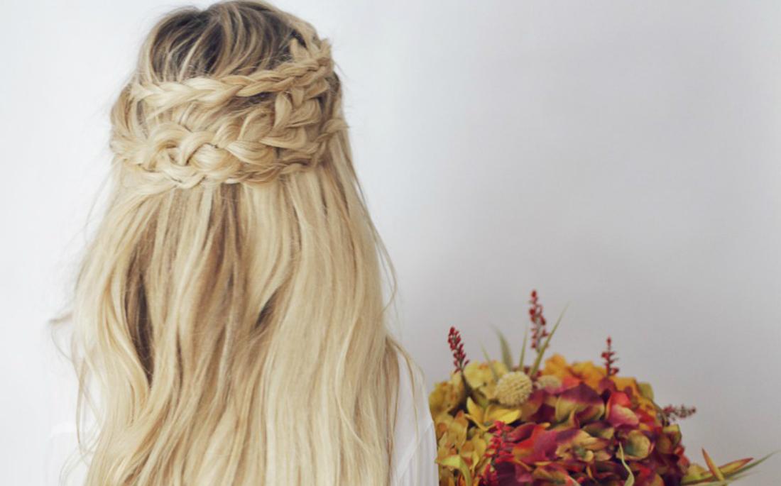 c24543e26e7d 60+ εντυπωσιακά χτενίσματα για γάμο ανάλογα με το μήκος στα μαλλιά ...